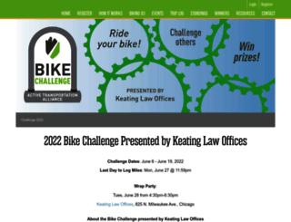 bikecommuterchallenge.org screenshot
