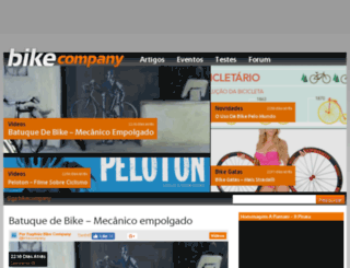 bikecompany.com.br screenshot