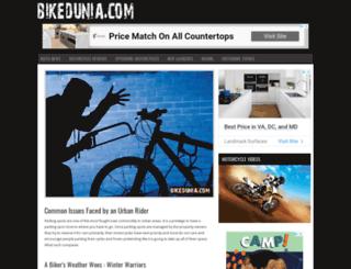 bikedunia.com screenshot