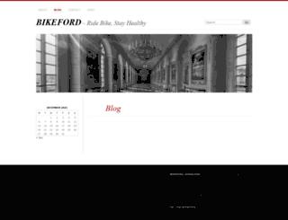 bikeford.wordpress.com screenshot