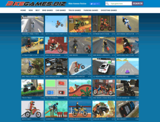 bikegames.biz screenshot