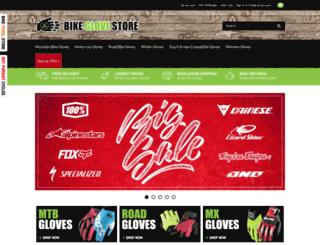 bikeglovestore.com screenshot