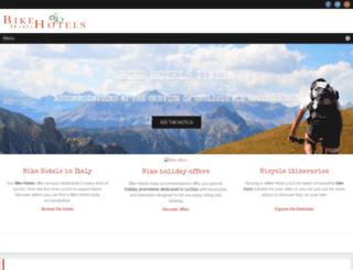 bikehotelsitalia.com screenshot