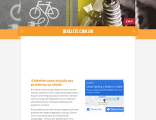 bikelete.com.br screenshot