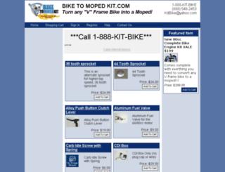 bikemotorkit.com screenshot