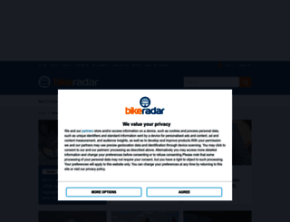 bikeradar.com screenshot