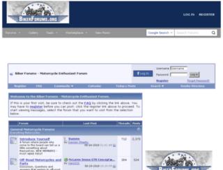 bikerforums.org screenshot