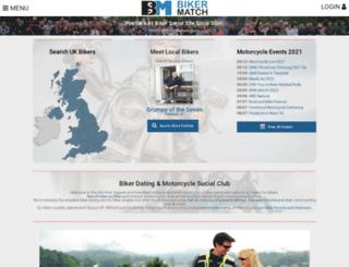 bikermatch.co.uk screenshot