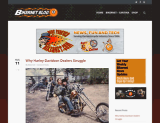 bikernetblog.com screenshot
