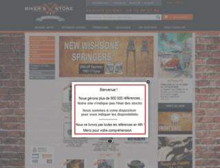 bikers-store.fr screenshot