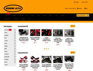 bikerzbits.com screenshot