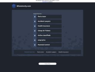 bikes.whereincity.com screenshot