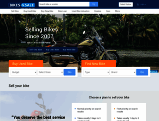 bikes4sale.in screenshot
