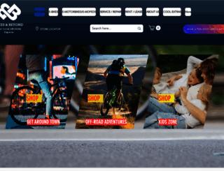 bikesandbarbers.co.nz screenshot