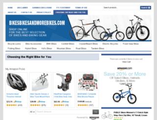 bikesbikesandmorebikes.com screenshot