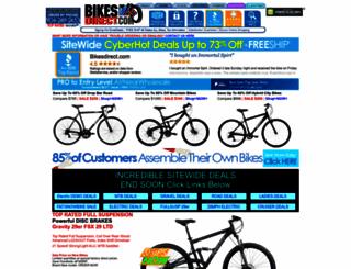 bikesdirect.com screenshot