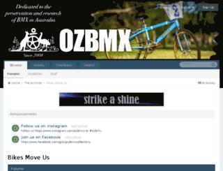 bikesmoveus.com.au screenshot
