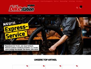 bikestation-weiden.de screenshot