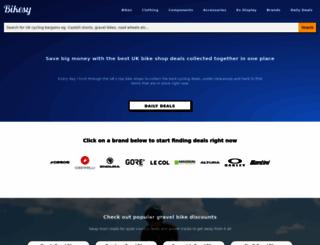 bikesy.co.uk screenshot