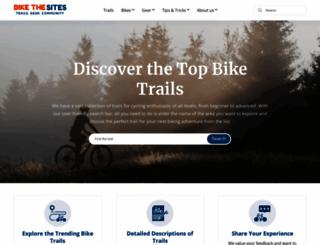 bikethesites.com screenshot