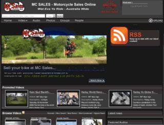 bikevideoclips.com.au screenshot