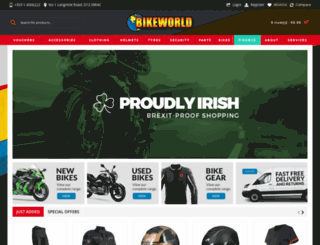 bikeworld.ie screenshot