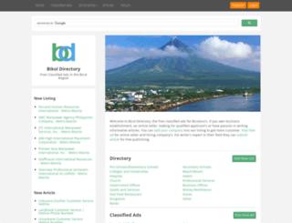 bikoldirectory.com screenshot