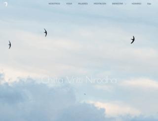 bikramyoga.es screenshot