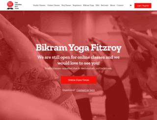 bikramyogafitzroy.com.au screenshot