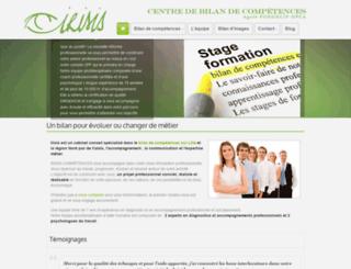 bilan-competences.pro screenshot