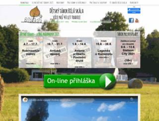 bilaskala.cz screenshot
