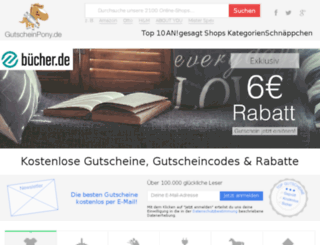 bild-old.gutscheinpony.de screenshot