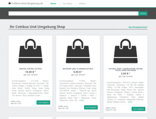 bilder.cottbus-und-umgebung.de screenshot