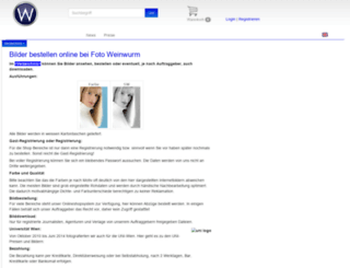 bilder.fotoweinwurm.at screenshot