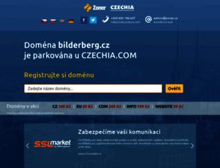 bilderberg.cz screenshot