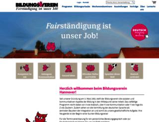 bildungsverein.de screenshot