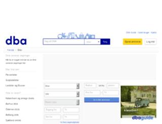biler.dba.dk screenshot