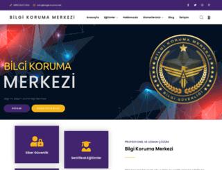 bilgikoruma.net screenshot