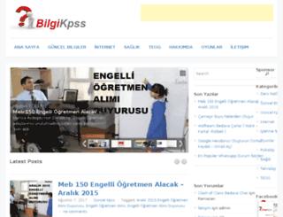 bilgikpss.com screenshot