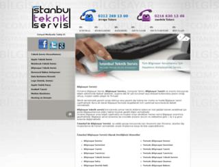 bilgisayar.istanbulteknikservis.com screenshot