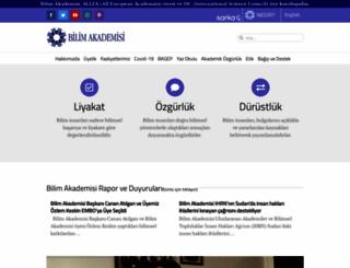 bilimakademisi.org screenshot