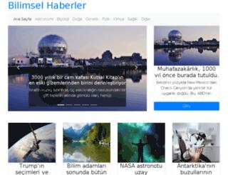 bilimselhaberler.com screenshot