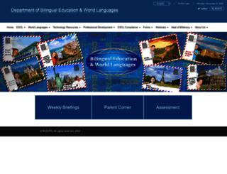 bilingual.dadeschools.net screenshot