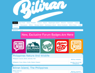 biliran.boards.net screenshot