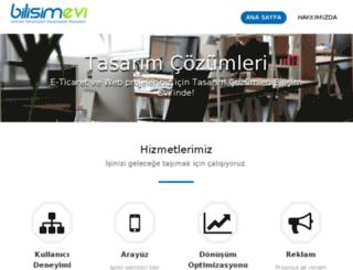 bilisimevi.com screenshot