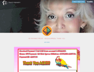 biljanabm.tumblr.com screenshot