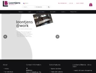 biljarts.nl screenshot
