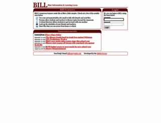 bill.mbhs.edu screenshot