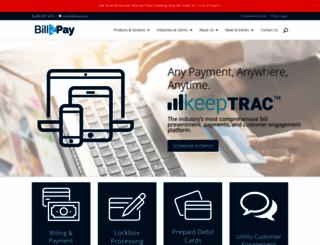 bill2pay.com screenshot