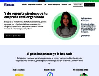 billage.es screenshot